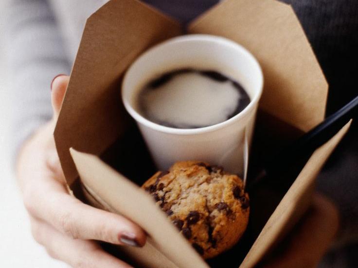 оригинальная подача кофе с собой каким образом